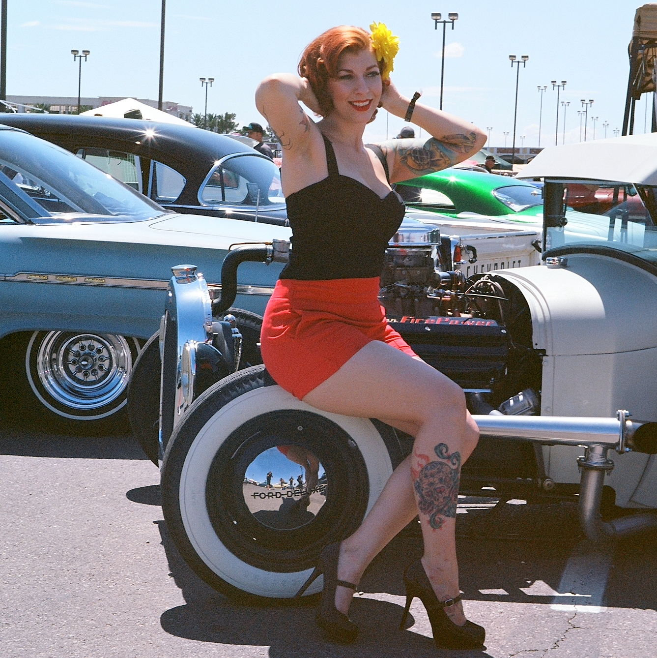 Viva Las Vegas Car Show Medium Format Prints « GatorRock