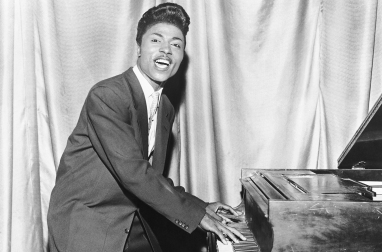 CIRCA 1956: Musician Little Richard performing onstage in circa 1956. (Photo by Michael Ochs Archives/Getty Images)